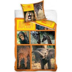 Pościel dziecięca Animal Planet Safari CARBOTEX rozmiar 160x200 cm