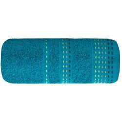 Ręcznik frotte Pola Turkusowy EUROFIRANY rozmiar 50x90 cm