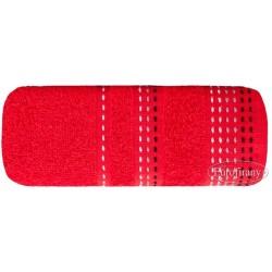 Ręcznik frotte Pola Czerwony EUROFIRANY rozmiar 50x90 cm
