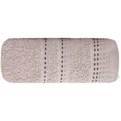 Ręcznik frotte Pola Beżowy EUROFIRANY rozmiar 50x90 cm