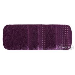 Ręcznik frotte Pola Śliwkowy EUROFIRANY rozmiar 50x90 cm