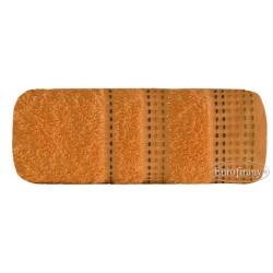 Ręcznik frotte Pola Morelowy EUROFIRANY rozmiar 50x90 cm