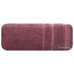 Ręcznik frotte Pola Bakłażanowy EUROFIRANY rozmiar 70x140 cm