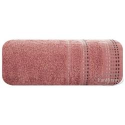 Ręcznik frotte Pola Pudrowy EUROFIRANY rozmiar 70x140 cm