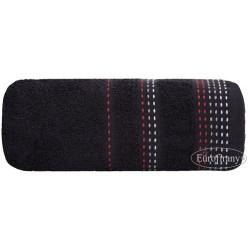 Ręcznik frotte Pola Czarny EUROFIRANY rozmiar 70x140 cm