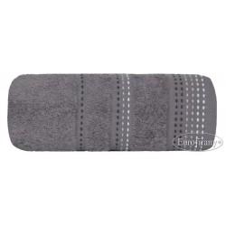 Ręcznik frotte Pola Popielaty EUROFIRANY rozmiar 70x140 cm