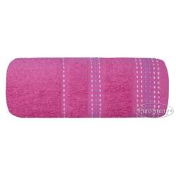 Ręcznik frotte Pola Amarantowy EUROFIRANY rozmiar 70x140 cm