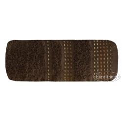 Ręcznik frotte Pola Brązowy EUROFIRANY rozmiar 70x140 cm
