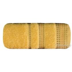 Ręcznik frotte Pola Żółty EUROFIRANY rozmiar 70x140 cm