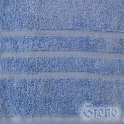 Ręcznik B2B Niebieski GRENO rozmiar 50x90 cm