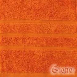Ręcznik B2B Pomarańczowy GRENO rozmiar 70x140 cm