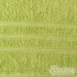 Ręcznik B2B Pistacjowy GRENO rozmiar 70x140 cm