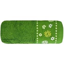 Ręcznik Frotte Kwiat Zielony EUROFIRANY rozmiar 30x50 cm