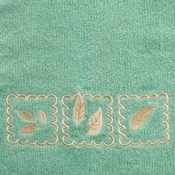 Ręcznik Frotte Gracja Zielony GRENO rozmiar 30x50 cm