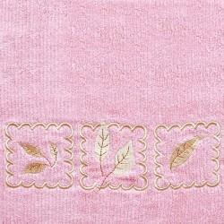 Ręcznik Frotte Gracja Różowy GRENO rozmiar 30x50 cm