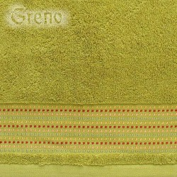 Ręcznik Frotte Oryginał Zielony GRENO rozmiar 30x50 cm