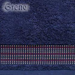 Ręcznik Frotte Oryginał Granatowy GRENO rozmiar 30x50 cm