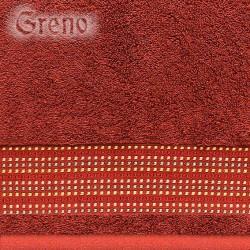 Ręcznik Frotte Oryginał Bordowy GRENO rozmiar 30x50 cm