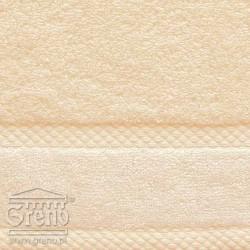 Ręcznik Wellness Kremowy GRENO rozmiar 100x150 cm