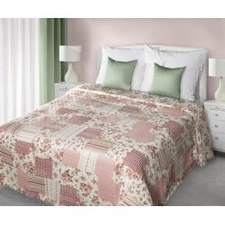 Narzuta Dekoracyjna Audrey 01 kremowo różowa EUROFIRANY rozmiar 220x240 cm