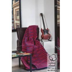 Koc Bawełniano-Akrylowy 0919-1 rozmiar 150x200 cm
