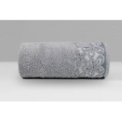Ręcznik Bella Popielaty GRENO rozmiar 30x50 cm
