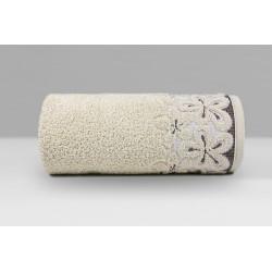 Ręcznik Bella Beżowy GRENO rozmiar 30x50 cm