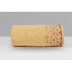 Ręcznik Bella Morelowy GRENO rozmiar 30x50 cm
