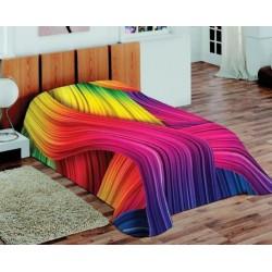 Koc Akrylowy Fluff 3D 55 rozmiar 155x220 cm