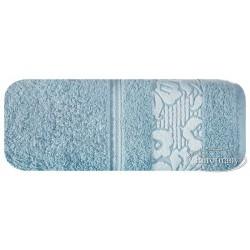Ręcznik frotte Sylwia Niebieski EUROFIRANY rozmiar 70x140 cm