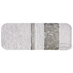 Ręcznik frotte Sylwia Srebrny EUROFIRANY rozmiar 70x140 cm