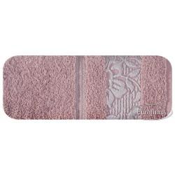 Ręcznik frotte Sylwia Wrzosowy EUROFIRANY rozmiar 70x140 cm