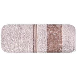 Ręcznik frotte Sylwia Liliowy EUROFIRANY rozmiar 70x140 cm