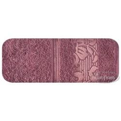 Ręcznik frotte Sylwia Różowy EUROFIRANY rozmiar 70x140 cm
