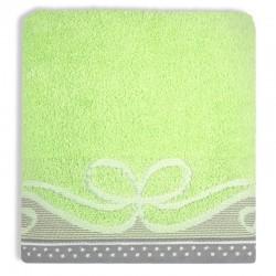 Ręcznik Frotte Arco Zielony GRENO rozmiar 70x140 cm