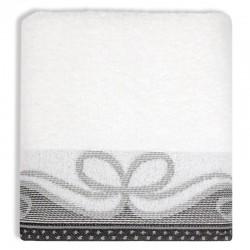 Ręcznik Frotte Arco Biały GRENO rozmiar 70x140 cm