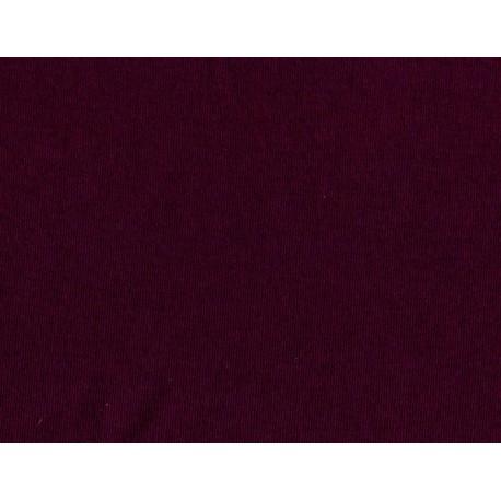 Prześcieradło Jersey z gumką Śliwkowe rozmiar 90x200 cm