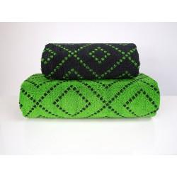 Ręcznik Tommy stalowy zielony FROTEX rozmiar 70x140 cm