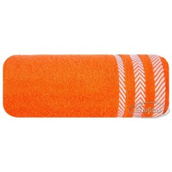 Ręcznik frotte Mona pomarańczowy EUROFIRANY rozmiar 30x50 cm