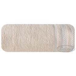 Ręcznik frotte Mona beżowy EUROFIRANY rozmiar 70x140 cm