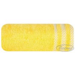 Ręcznik frotte Mona żółty EUROFIRANY rozmiar 70x140 cm