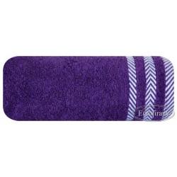 Ręcznik frotte Mona śliwkowy EUROFIRANY rozmiar 70x140 cm