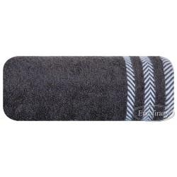 Ręcznik frotte Mona stalowy EUROFIRANY rozmiar 70x140 cm
