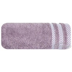 Ręcznik frotte Mona wrzosowy EUROFIRANY rozmiar 70x140 cm