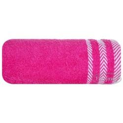 Ręcznik frotte Mona różowy EUROFIRANY rozmiar 70x140 cm