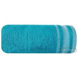 Ręcznik frotte Mona turkusowy EUROFIRANY rozmiar 70x140 cm