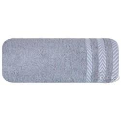 Ręcznik frotte Mona szary EUROFIRANY rozmiar 70x140 cm