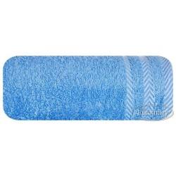 Ręcznik frotte Mona niebieski EUROFIRANY rozmiar 70x140 cm