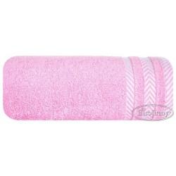 Ręcznik frotte Mona różowy jasny EUROFIRANY rozmiar 100x150 cm