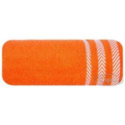 Ręcznik frotte Mona pomarańczowy EUROFIRANY rozmiar 100x150 cm